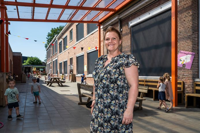 Directeur Sarah Van Overloop is enthousiast over het nieuwbouwproject voor De Oogappel.