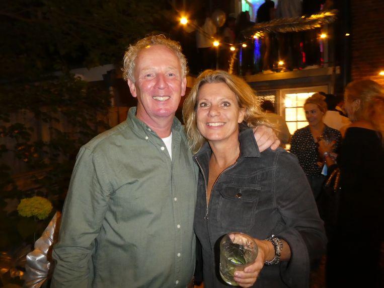 Erik en Brigitte van der Wiel, de ouders van Tim. Vader: