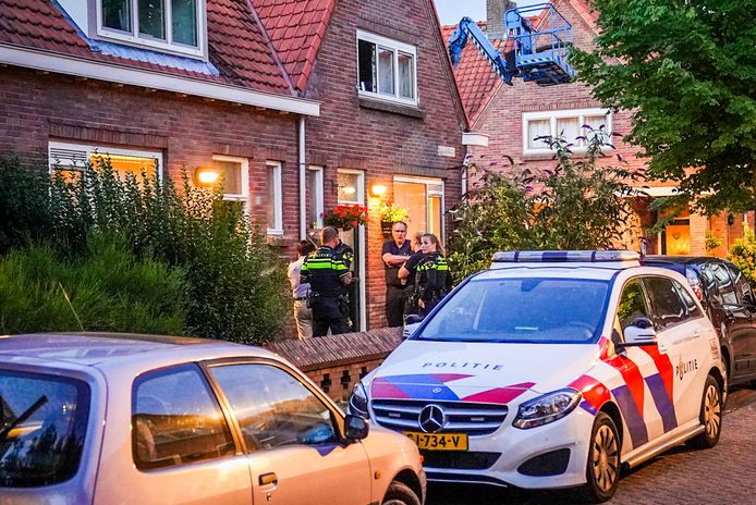 In de Sparrenstraat in Eindhoven werd deze week een dode man aangetroffen.