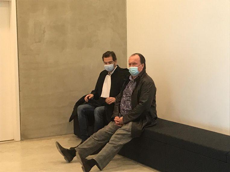 Jeff Hoeyberghs vandaag in Gent - raadkamer Beeld Sibren Dejaegher