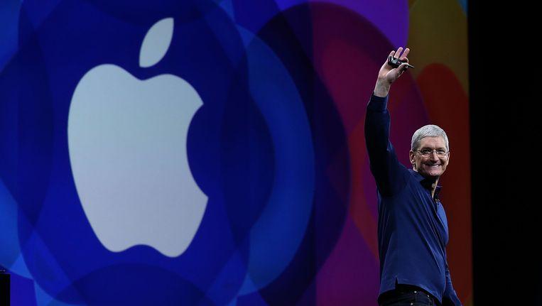 Tim Cook, huidige CEO van Apple.