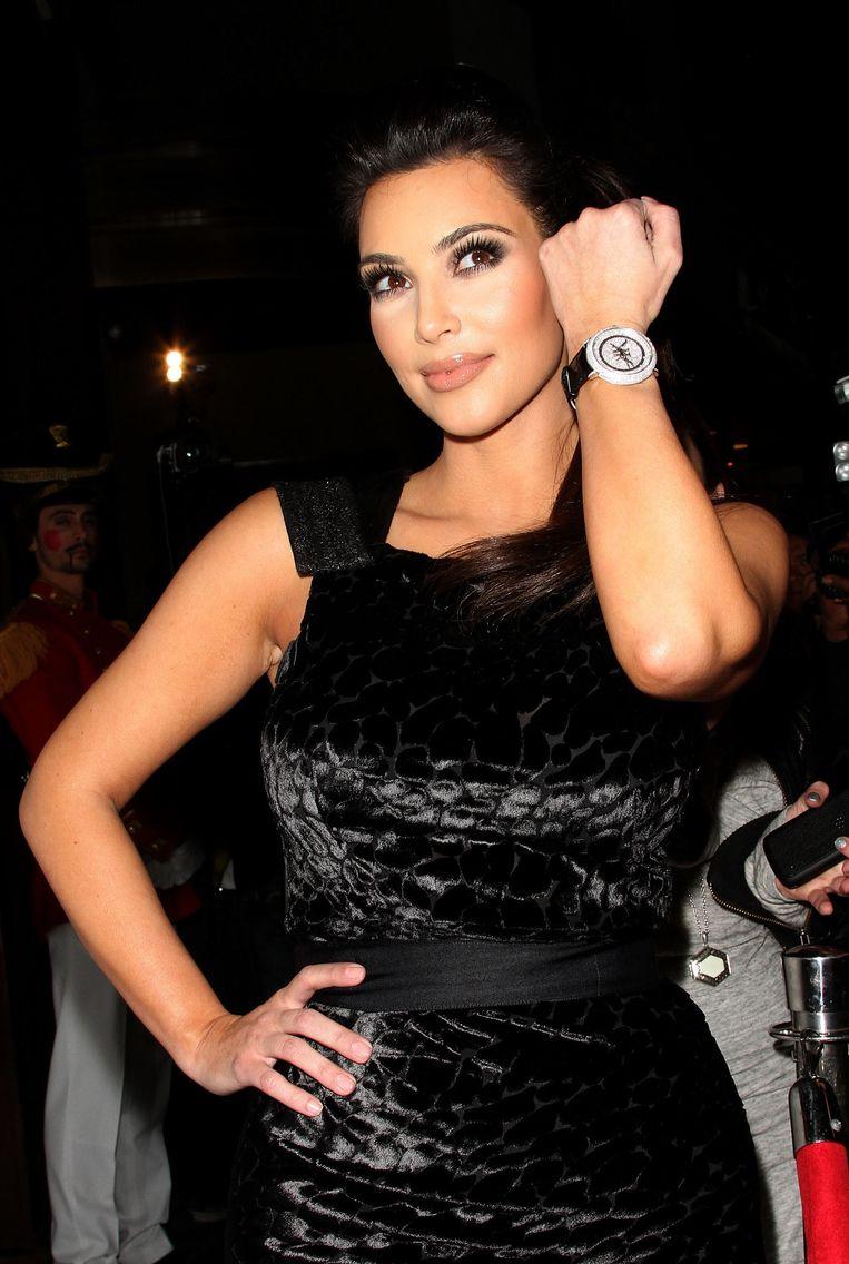 Kim Kardashian. Geschat vermogen: 77,1 miljoen. Beeld AFP