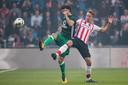 PSV-aanvaller Luuk de Jong is er niet best aan toe.