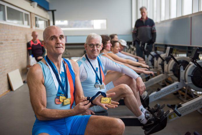 Martin Luirink werd vorig jaar wereldkampioen indoorroeien op twee afstanden en prolongeerde zijn titels dit jaar.