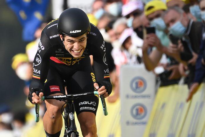 Vice-champion du monde du contre-la-montre, Wout Van Aert tentera d'aller chercher une médaille olympique à Tokyo.
