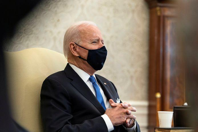 Le président américain Joe Biden.