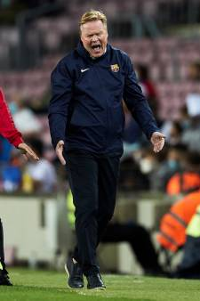 Magie Barcelona definitief verdwenen: Koeman ziet machteloze ploeg op nippertje gelijkspelen