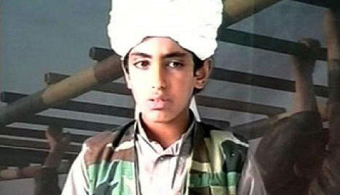 Hamza bin Laden in 2001.