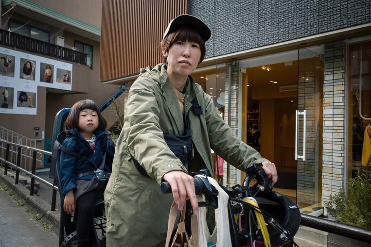 Sayoko Toya (38) Beeld Kentaro Takahashi