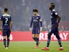 PSV is sinds 1964 niet zo zwaar geklopt in een competitieduel bij Ajax
