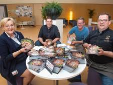 Drie Keurslagers waarderen ETZ-personeel met 7.000 cadeaubonnen