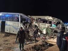 12 morts dans un choc frontal entre deux  bus en Algérie