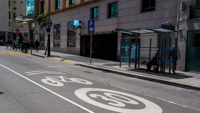 Twintig tot dertig kilometer per uur is de norm in Spanje vanaf nu.