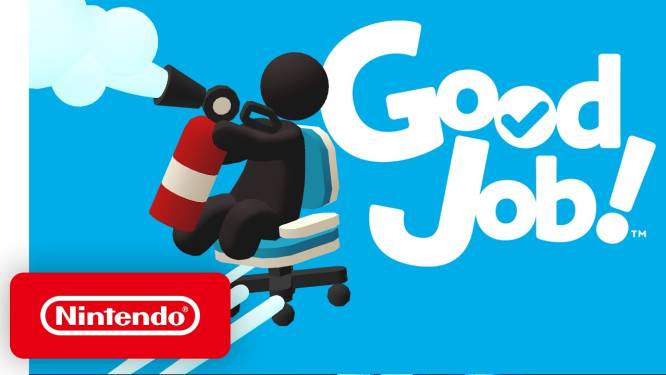 Nintendo Switch-game 'Good Job!' grote winnaar Dutch Game Awards 2021