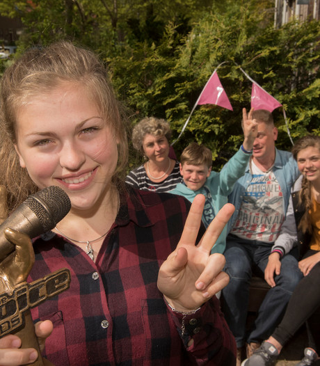 The Voice Kids-winnares Iris moet wennen aan sterrenstatus
