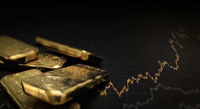 De goudprijs is woensdag voor het eerst sinds zes jaar boven 1.500 dollar per ounce gegaan.