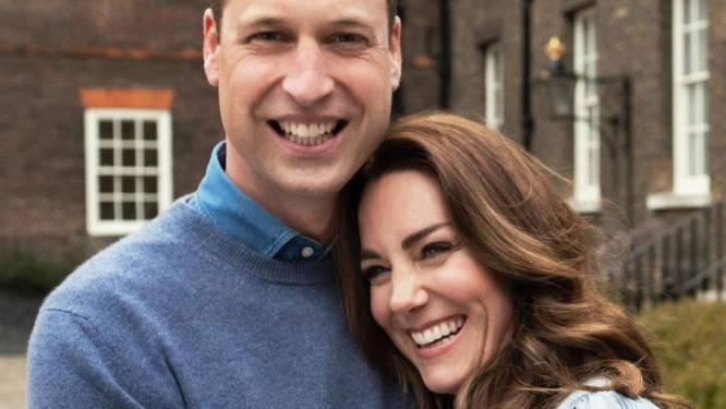 Razend populaire William en Kate vieren 10de huwelijksverjaardag met mooie foto's