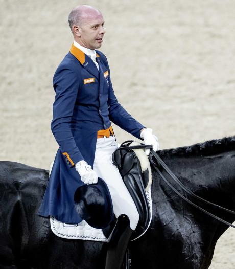 Hans Peter Minderhoud mag met negende plaats naar kür  in de RAI