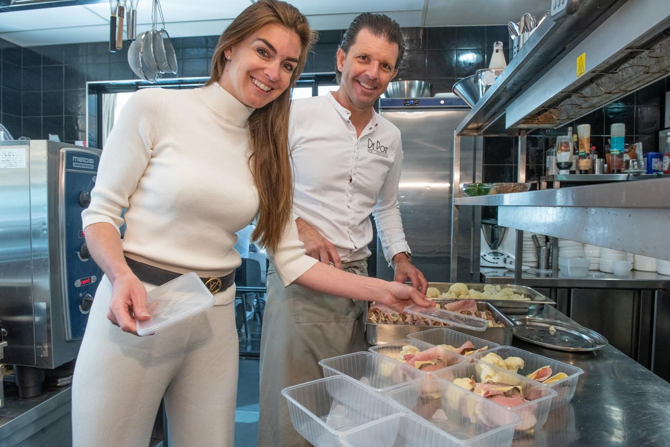 Brenda Leemans en Mario Polfliet.