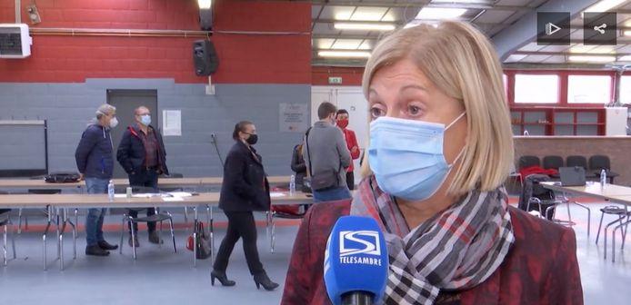 La Directrice Générale de la Commune d'Anderlues, Florence Dozier