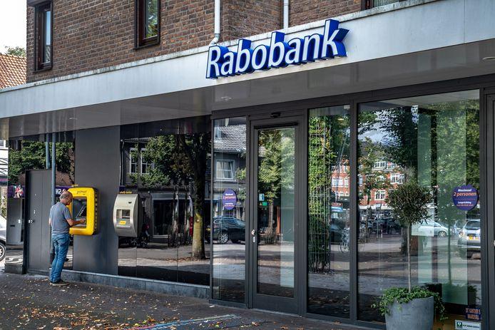 De Rabobank in Groesbeek werd gesloten tijdens de coronapandemie en zal niet weer opnieuw open gaan.