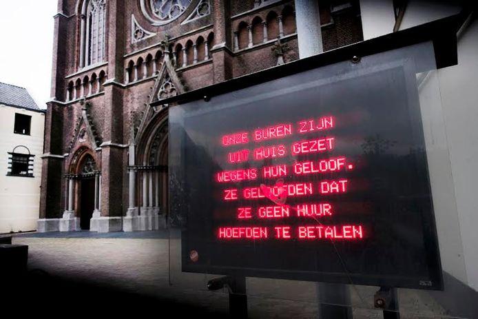 De grappen van meneer pastoor. Foto Jan van Eijndhoven/PVE