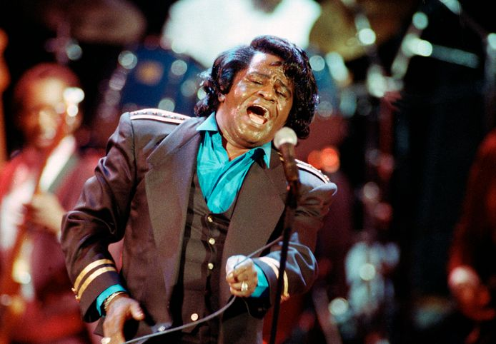 James Brown in 1991