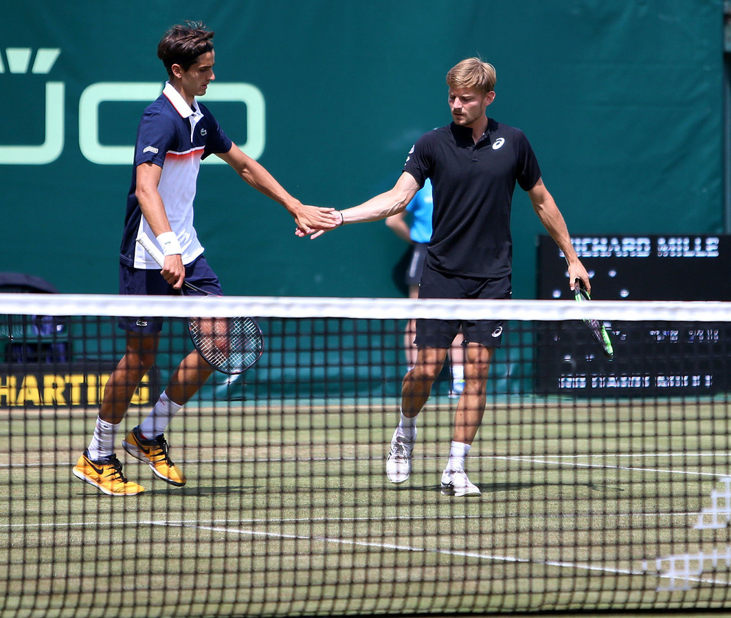 Pierre -Hugues Herbert et David Goffin.