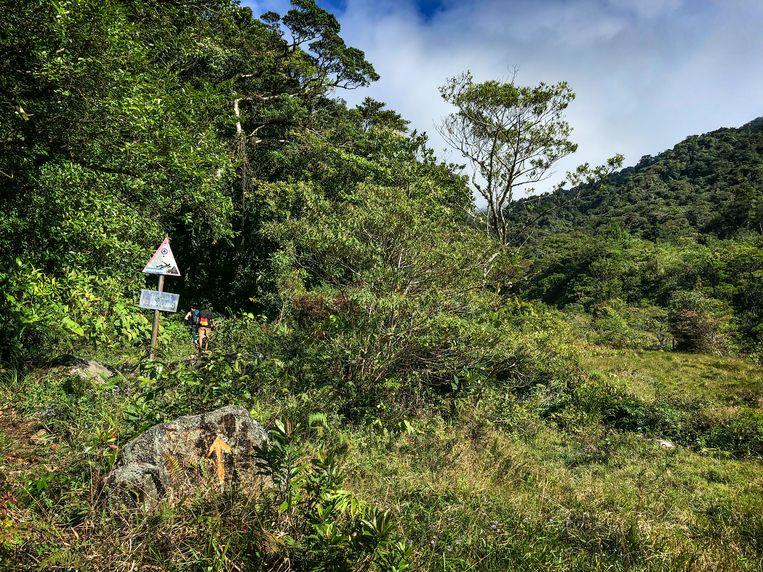 Deel van de route Sendero El Pianista. Beeld Maaike Polder