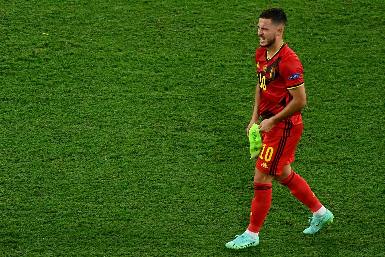 Pas de trop gros dégâts pour Eden Hazard, sorti sur blessure contre le Portugal.