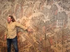 Mega-tekening in museum toont IJsselsteinse geschiedenis