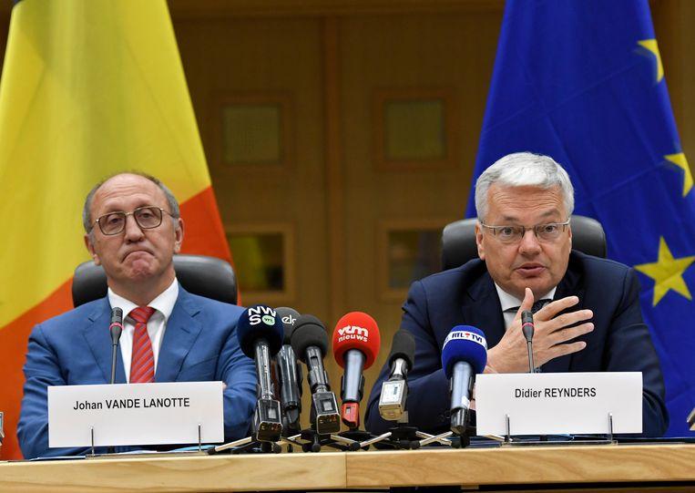 Didier Reynders is momenteel samen met JOhan Vande Lanotte (sp.a) koninklijk informateur. Beeld Photo News