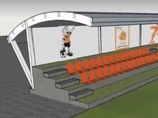 VV Chaam vernieuwt tribune en terras