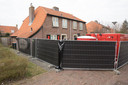 Het huis aan de Kraayenbergstraat in Hattem waar Dwoëny werd gevonden door de politie.