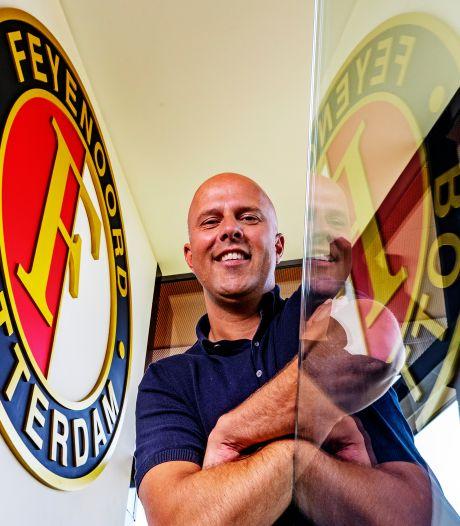 Arne Slot: 'Feyenoord heeft niet als doelstelling bij mij neergelegd dat wij kampioen moeten worden'