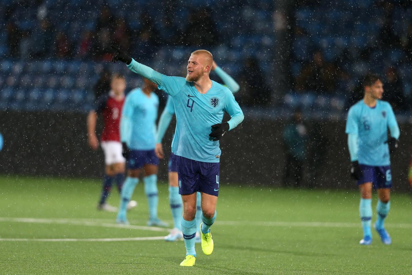Rick van Drongelen speelde 18 interlands voor Jong Oranje.