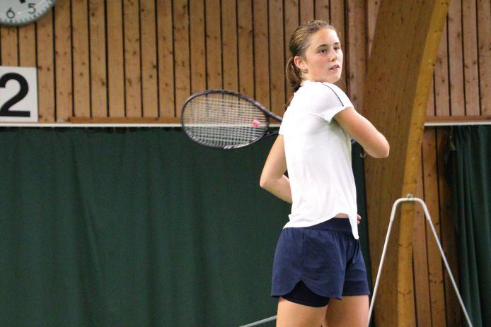 Julie Winters gaat na de zomer het tennis combineren met universitaire studies bio-ingenieur.