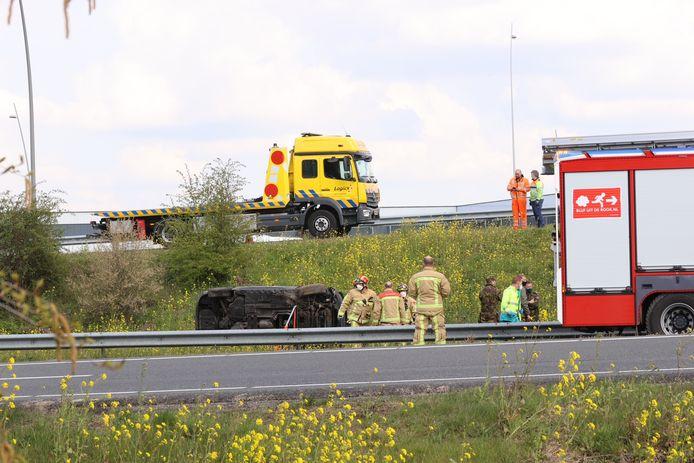 Ongeval op de A2