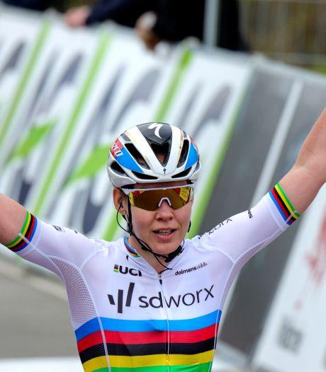 Van der Breggen pakt dag- én eindzege in Ronde van Burgos, Nederlands podium