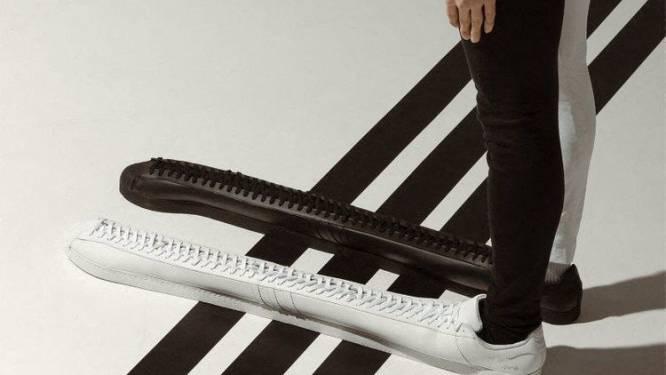 Adidas lanceert langste sneakers ooit