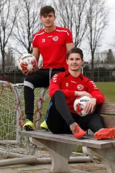 GSV'38-spelers Raoul en Delano Cocu voelden nooit de druk van beroemde vader Phillip