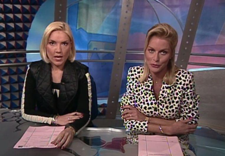 De allereerste uitzending van Hart van Nederland Beeld SBS
