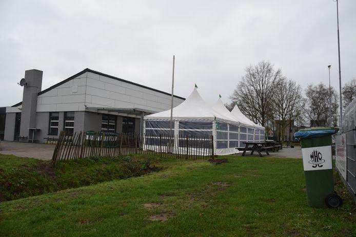 Het complex van Mixed Hockey Club Goirle.