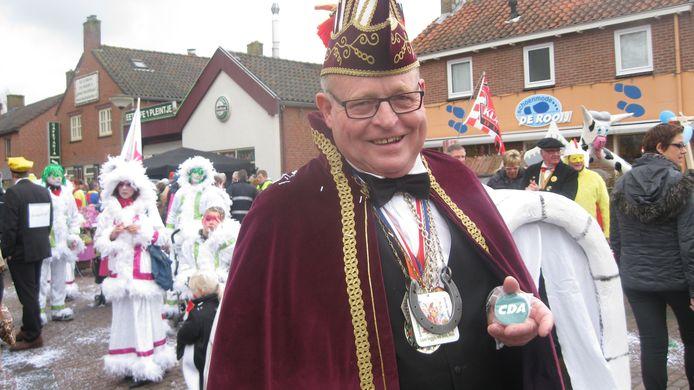 Cees Schalken was verzot op carnaval én ook decennia politiek actief bij het CDA.