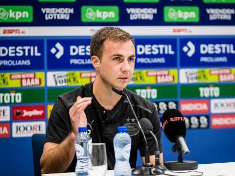 Mario Götze vindt verlies van PSV tegen Willem II heel ongelukkig: 'Normaal gesproken win je deze wedstrijd gewoon'
