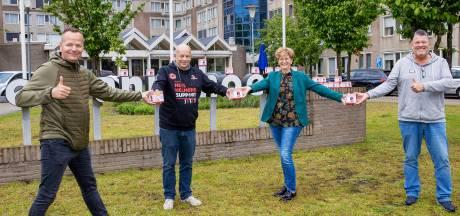 Veelbesproken Helmond Sport-stroopwafels vinden gretig aftrek in zorgcentrum: 'Mooi toch?'