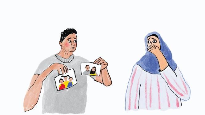 Yassin vertelde Noor dat hij bij zijn moeder woonde, maar dat bleek helemaal niet waar