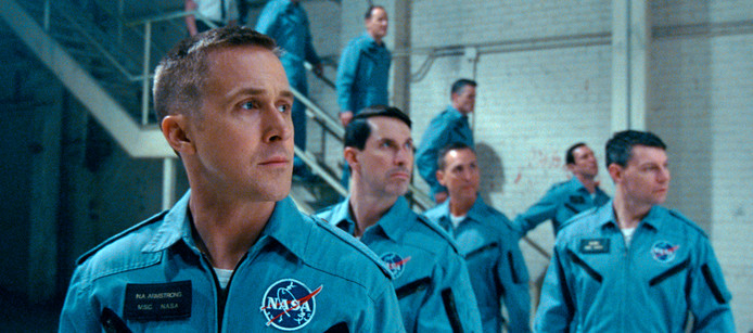Ryan Gosling in First Man.