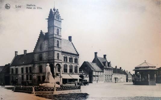 Al van oudsher was er horeca gevestigd in het gebouw op de markt van Lo-Reninge.