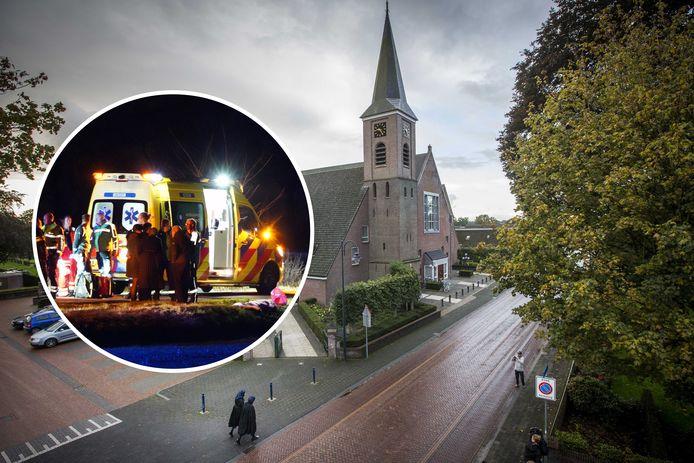 Groot verdriet in Staphorst na het overlijden van een 6-jarige jongen. Hij stierf na een ongeluk.